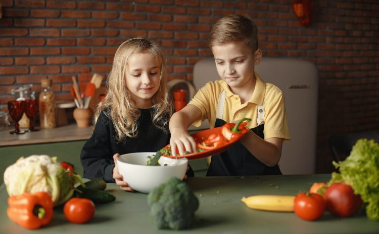 Cooking Healthier Meals for Your Kids
